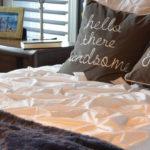 Come allestire un letto matrimoniale