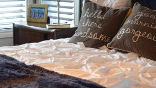 Allestire un letto matrimoniale