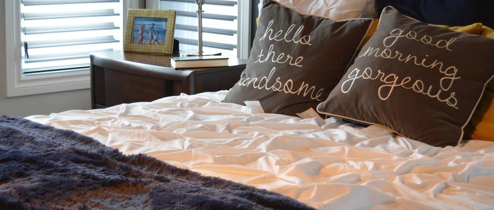 Come allestire un letto matrimoniale letti su misura - Dove comprare un letto matrimoniale ...